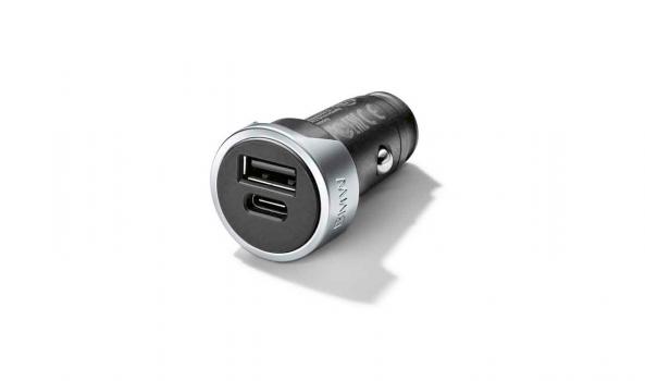 BMW двойно USB зарядно тип А и C
