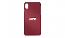 BMW M калъф за iphone XS/ Х бордо