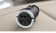 BMW двойно зарядно за автомобил
