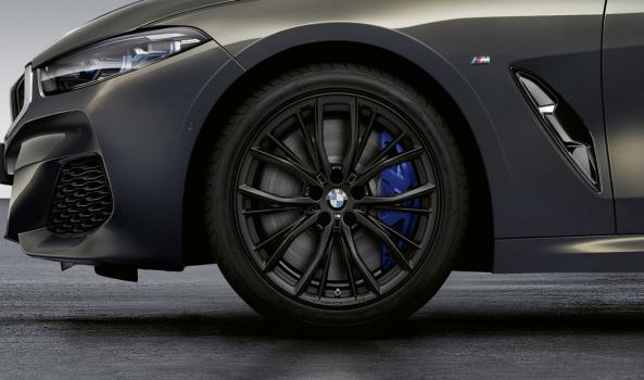 BMW комплект зимни гуми с джанти серия 8/ F14,F15,F16