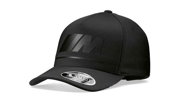 BMW M шапка черно лого