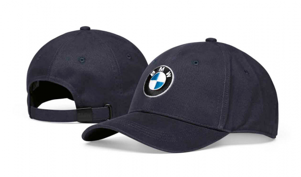 BMW шапка с лого тъмно синя