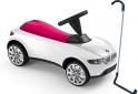 BMW детска количка Baby Racer III малинено/бяло