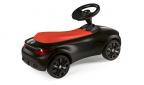 BMW Baby Racer III детска количка черно/оранжево със спомагателна дръжка