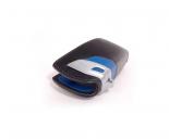 BMW калъф за ключ- черно и синьо