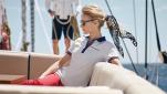 BMW дамска тениска Yachtsport