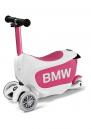 BMW Kids скутер розов