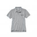 BMW мъжка поло тениска сива