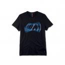 BMW M мъжка тениска 3D лого